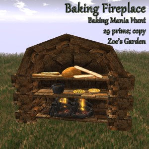 Baking Fireplace Hunt AD