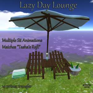 Lazy Day Lounge AD